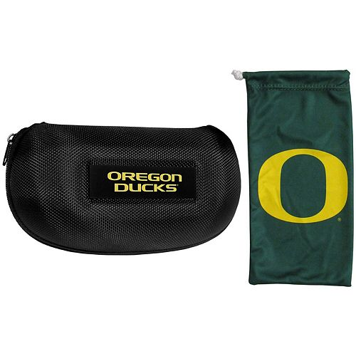 Oregon Ducks Sunglasses Hard Case & Microfiber Bag Set