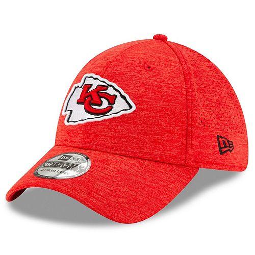 Men's New Era Kansas City Chiefs Red STH Perf 39THIRTY Flex Hat