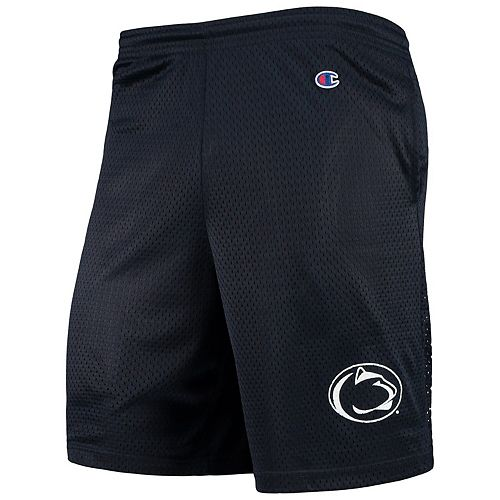 Men's Champion Navy Penn State Nittany Lions College Mesh Shorts
