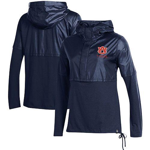 Women's Under Armour Navy Auburn Tigers Sportstyle Hybrid Jacket