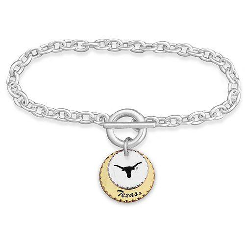Texas Longhorns Women's Haute Stamp Bracelet