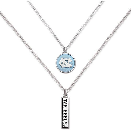 North Carolina Tar Heels Women's Campus Chic Double Down Necklace