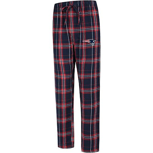 Men's Concepts Sport Navy New England Patriots Big & Tall Hillstone Flannel Pants