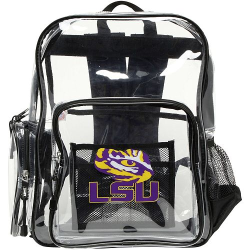 The Northwest Company LSU Tigers Dimension Clear Backpack