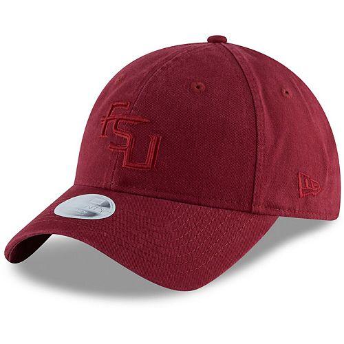 Women's New Era Garnet Florida State Seminoles Core Classic Tonal 9TWENTY Adjustable Hat