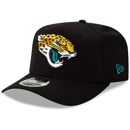 Men's New Era Black Jacksonville Jaguars Team 9FIFTY Adjustable Snapback Hat