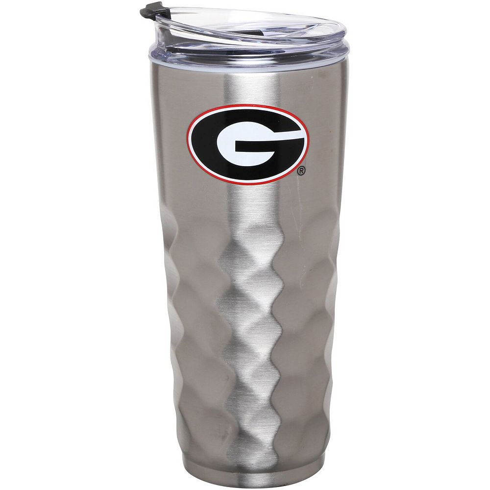 Georgia Bulldogs 32oz. Stainless Steel Diamond Tumbler