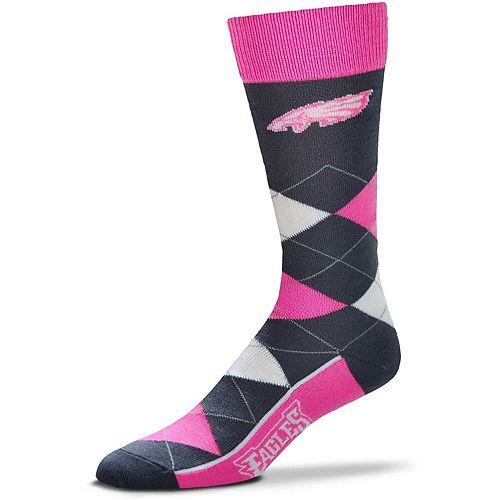 For Bare Feet Philadelphia Eagles Line Up Argyle Melange Socks