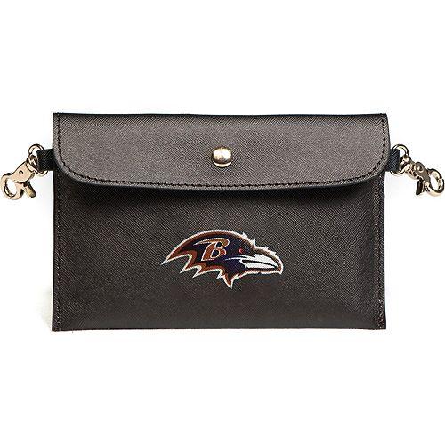 Women's Cuce Baltimore Ravens Huddle Up Hip Bag