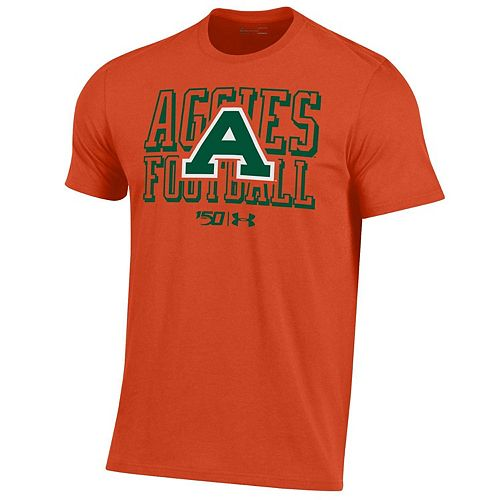 Men's Under Armour Orange Colorado State Rams College Football 150th Anniversary Special Games Performance T-Shirt