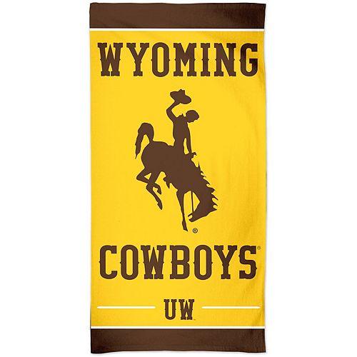 "WinCraft Wyoming Cowboys 30"" x 60"" Spectra Beach Towel"