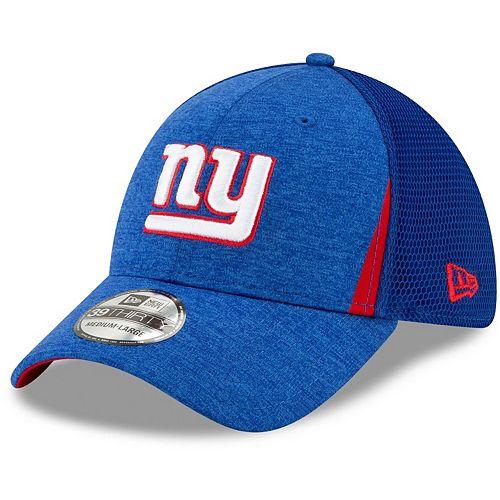 Men's New Era Royal New York Giants Slice Neo 39THIRTY Flex Hat