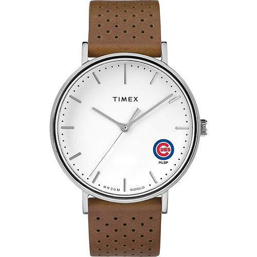 Timex Chicago Cubs Bright Whites Tribute Collection Watch