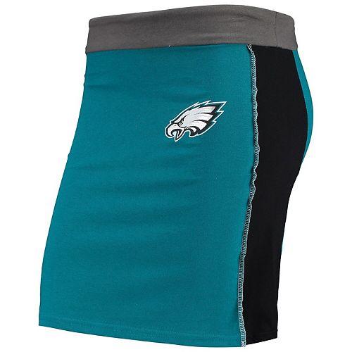 Women's Refried Tees Midnight Green Philadelphia Eagles Short Skirt