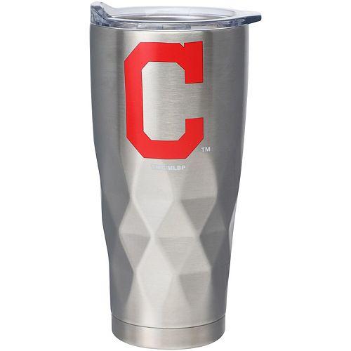 Cleveland Indians 22oz. Diamond Bottom Stainless Steel Tumbler