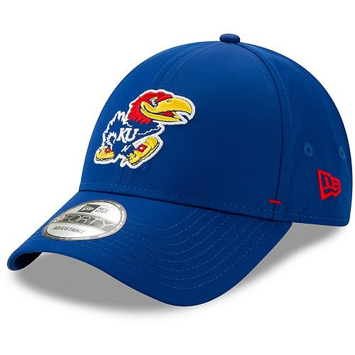 Men's New Era Royal Kansas Jayhawks Dash 9FORTY Adjustable Hat