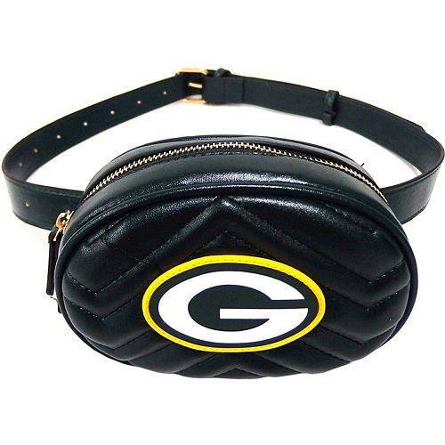 Women's Cuce Green Bay Packers Faux Leather Belt Bag
