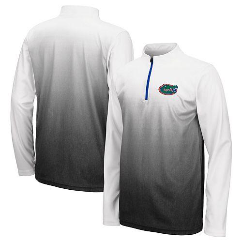 Youth Colosseum Black Florida Gators Magic Quarter-Zip Jacket