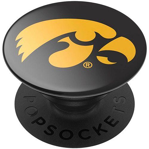 PopSockets Iowa Hawkeyes Black Swappable PopGrip