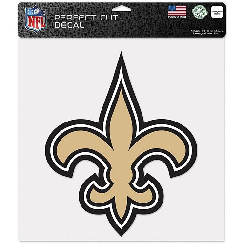 """WinCraft New Orleans Saints 12"""" x 12"""" Perfect Cut Decal"""