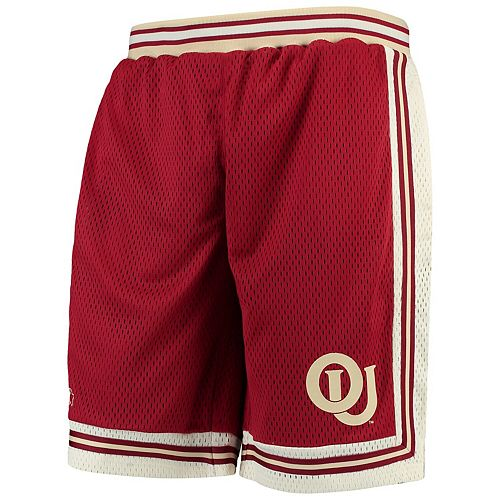 Men's Starter Crimson Oklahoma Sooners Highlight Shorts