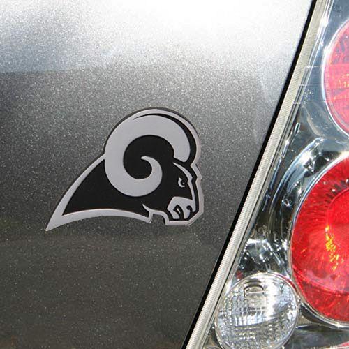 Los Angeles Rams Premium Metal Auto Emblem