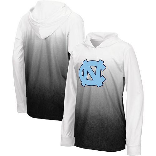 Youth Colosseum Black North Carolina Tar Heels Magic Long Sleeve Hooded T-Shirt