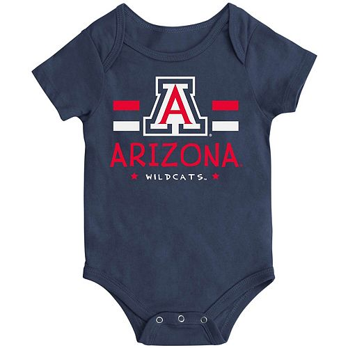 Newborn & Infant Colosseum Navy Arizona Wildcats Core Biggest Fan Bodysuit