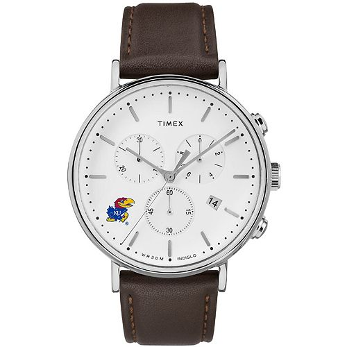 Men's Timex Kansas Jayhawks General Manager Watch