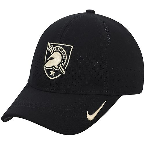 Youth Nike Black Army Black Knights Sideline Coaches Legacy 91 Performance Adjustable Hat