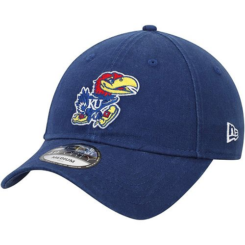Men's New Era Royal Kansas Jayhawks Relaxed 49FORTY Fitted Hat