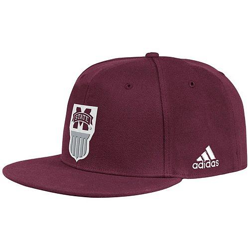 Men's adidas Maroon Mississippi State Bulldogs Ultra Flex Hat