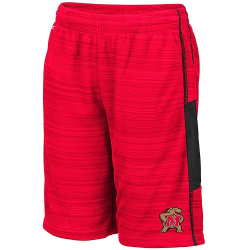 Youth Colosseum Red Maryland Terrapins Wewak Shorts