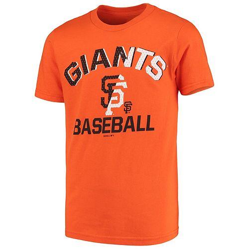 Youth Orange San Francisco Giants Team Trainer T-Shirt