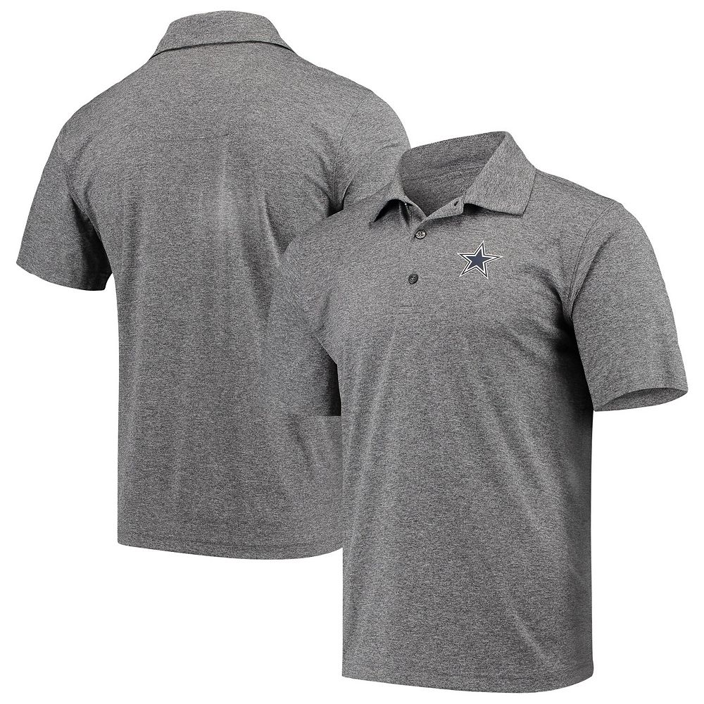 Men's Charcoal Dallas Cowboys Pine Polo