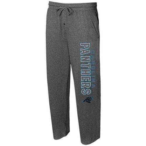 Men's Concepts Sport Charcoal Carolina Panthers Quest Knit Lounge Pants