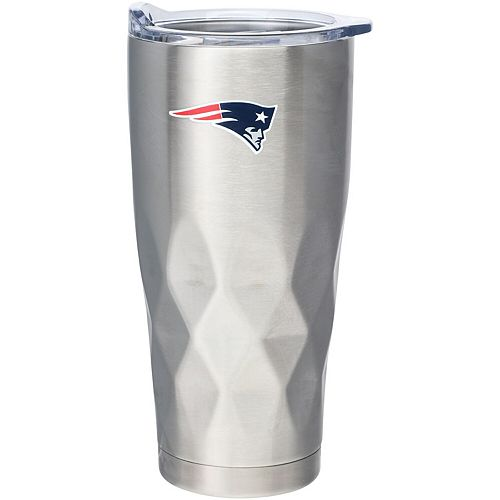 New England Patriots 22oz. Diamond Bottom Stainless Steel Tumbler