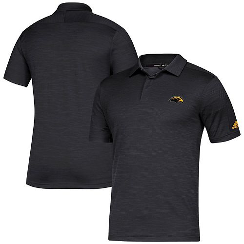 Men's adidas Black Southern Miss Golden Eagles Gamemode Polo