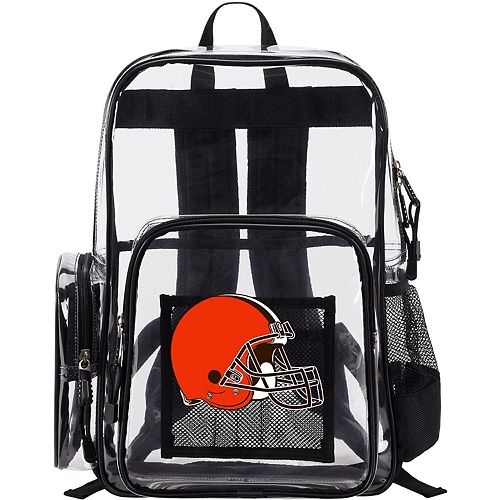 The Northwest Company Cleveland Browns Dimension Clear Backpack