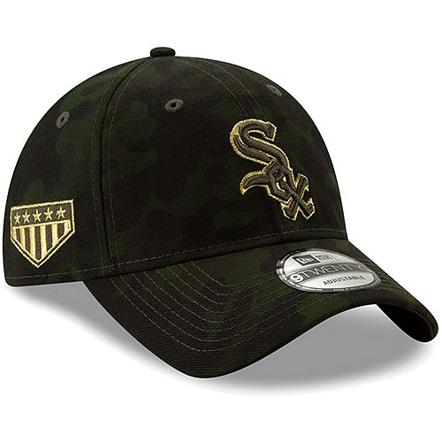 Chicago White Sox New Era 2019 MLB Armed Forces Day 9TWENTY Adjustable Hat - Camo