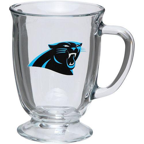 Carolina Panthers 16oz. Kona Glass Mug