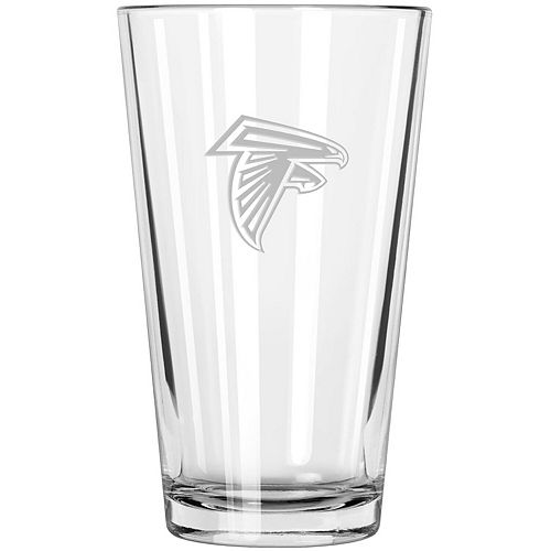 Atlanta Falcons Etched 16oz. Pint Glass