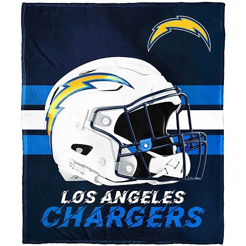 """The Northwest Company Los Angeles Chargers 50"""" x 60"""" Protector Silk Touch Throw"""