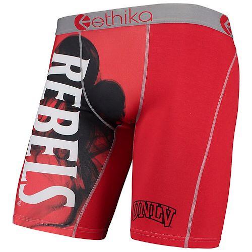 Men's Ethika Red UNLV Rebels Boxer Briefs