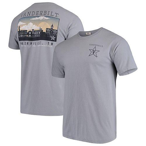 Vanderbilt Commodores Comfort Colors Campus Scenery T-Shirt - Gray