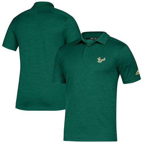 Men's adidas Green South Florida Bulls Gamemode Polo