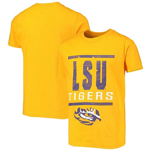 Youth Gold LSU Tigers Go For It T-Shirt