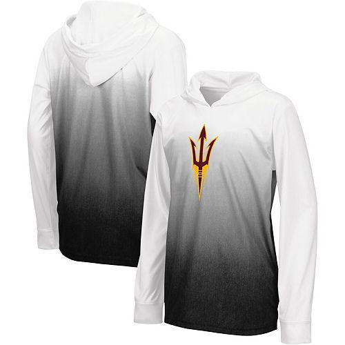 Youth Colosseum Black Arizona State Sun Devils Magic Long Sleeve Hooded T-Shirt