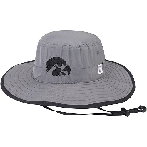 Men's The Game Gray Iowa Hawkeyes Everyday Ultralight Boonie Bucket Hat