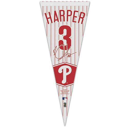 WinCraft Bryce Harper Philadelphia Phillies 12'' x 30'' Premium Pennant